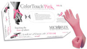 Microflex ColorTouch PF Latex Pink (limited call 866-774-4746)