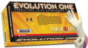 Microflex Evolution One PF Latex(limited call 866-774-4746)