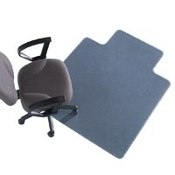 All-Pile Chair Mat 46x60 Util Clear Ea