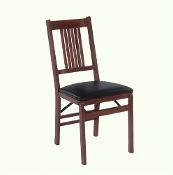2 Stakmore True Mission Folding Chairs