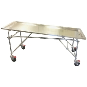 Multi Height Folding Embalming Table