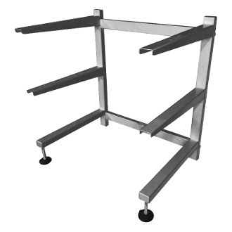 3 Tier Cantilever Rack