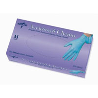 Accutouch Nitr Blue Chemo Large 100/Bx,10 BX/CA