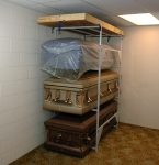 Casket Storage Rack - 4 Body